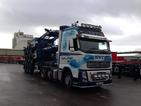 3 New Skeletal Trailers Collected From Dennison In Lancaster