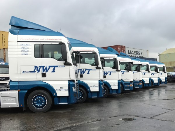 8 New 2017 Trucks Purchased In Full Brand Livery