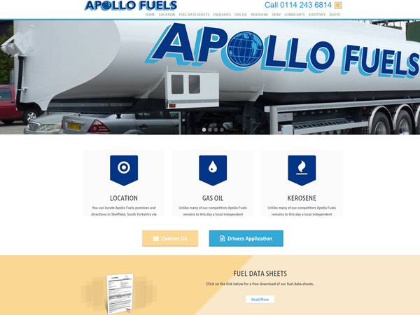 New Website Launched For Group Company Apollo Fuels