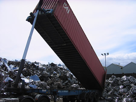 Haulage Container Tipper