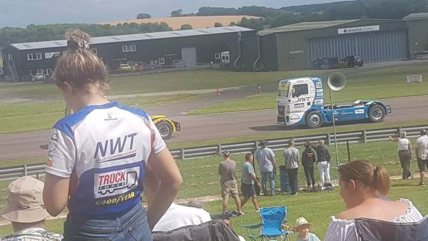 Congratulations To John Newell From Newell & Wright Motorsport Truck Racing