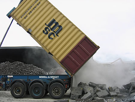Loose Material Container Haulage