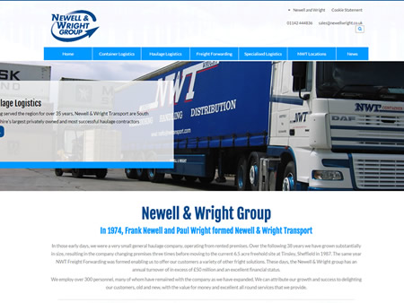 New Website Launched For The Newell & Wright Group
