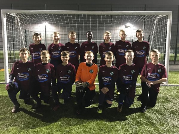 Newell & Wight Group Sponsor Greenhill Under 11's Football Team